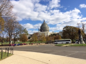U.S. Capitol Building - pic taken during my walk on the mall