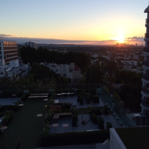 Sunrise view from my balcony